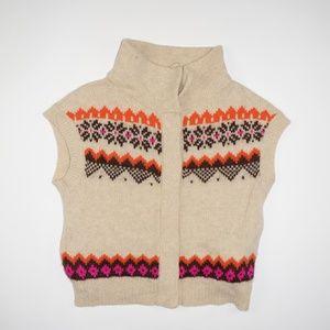 Free People Nordic Sleeveless Sweater